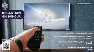 Keb. Klasis Priangan 20 Sept 2020 - Pdt Andy G - Ibadah Yang Diperkenan Allah : Online atau Onsite?
