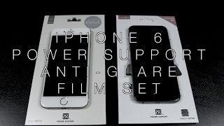 Power Support iPhone 6 Anti Glare Film Set Review!