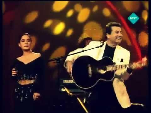 Eurovision 1990 Kayahan Düet Demet Sağıroğlu Gözlerinin Hapsindeyim