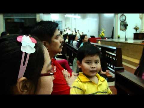 Thánh Lễ của Cha Long tối 9.7.2011 - Nhà Thờ Hòa Hưng