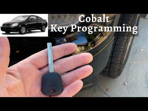 How To Program A Chevy Cobalt Key 2006 - 2010 DIY Chevrolet Transponder Ignition