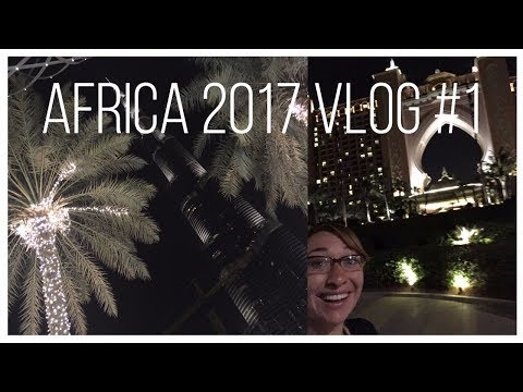 Emirates Airlines gave me a free hotel! (Africa Vlogs #1)