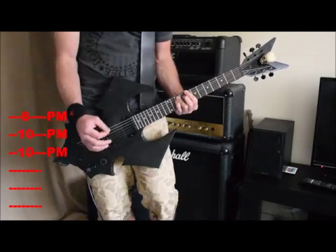 Saturday Night - Play Along Guitar Tutorial