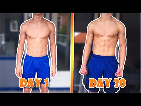100 DIPS PER DAY FOR 30 DAYS CHALLENGE - RESULTS - 2017