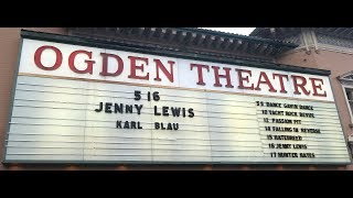 Jenny Lewis at the Odgen Theater in Denver on May 16, 2019