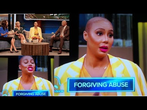 """TAMAR BRAXTON talks about VINCE on the STEVE HARVEY SHOW! """"DON'T TOUCH/HIT ME! You are not my DADDY"""""""