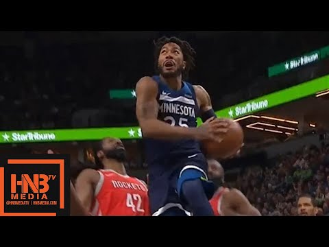 Houston Rockets vs Minnesota Timberwolves 1st Half Highlights / Game 3 / 2018 NBA Playoffs