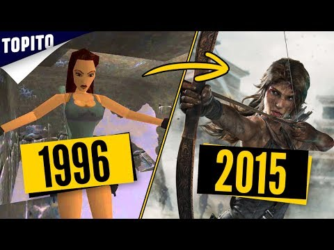 Top 5 des évolutions graphiques des jeux vidéo