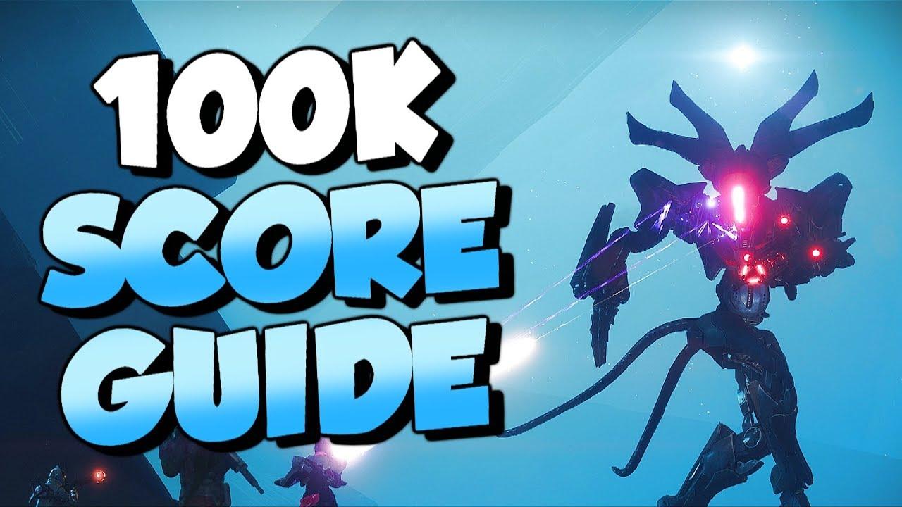 100K Nightfall High Score Guide! Week 2 [Destiny 2 Forsaken]