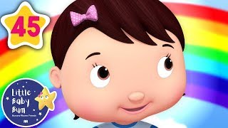 Learn Rainbow Colors Song! | +More Baby Songs | Nursery Rhymes | Little Baby Bum