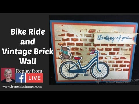 Bike Ride recorded live on Facebook