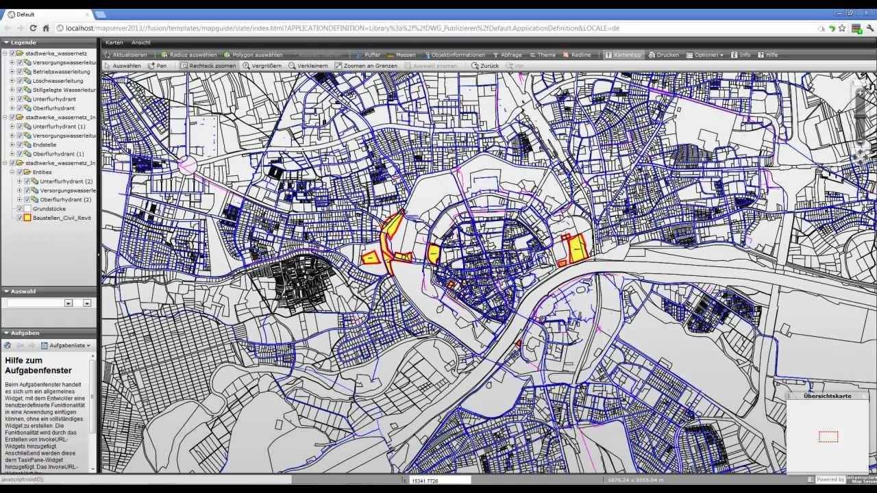 Autodesk Infrastructure Map Server - Publish DWGs