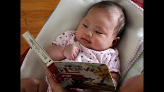 Adorable Baby Videos Ever - Cute Babies Loving and Laughing when Read Book Compilation