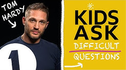 """What's the naughtiest thing you've ever done?"":  Kids Ask Tom Hardy Difficult Questions"