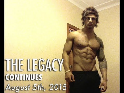 Zyzz - The Legacy Continues and music with Van Yuul B (Tribute to Zyzz 2015)