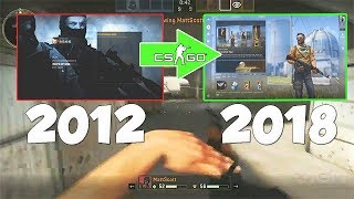 A Brief History Of CS:GO's UI/HUD & Gameplay... (2012 - 2018)