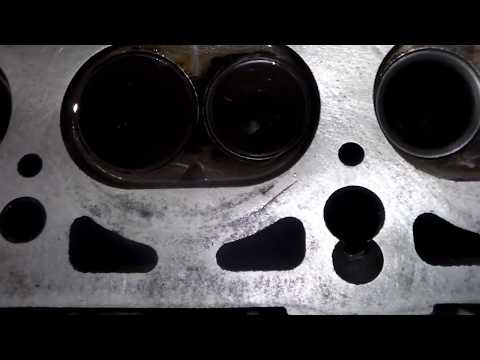 Проверка клапанов керосином.Как проверить клапана после ремонта ,
