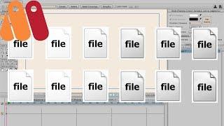 Anime Studio Pro 10/11 (Moho 12) - Как загрузить секвенцию фотографий /кадров / файлов в программу