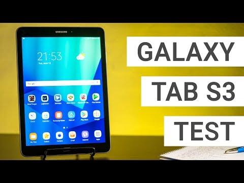 Samsung Galaxy Tab S3 Test: Das beste Android Tablet   Deutsch