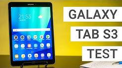 Samsung Galaxy Tab S3 Test: Das beste Android Tablet | Deutsch