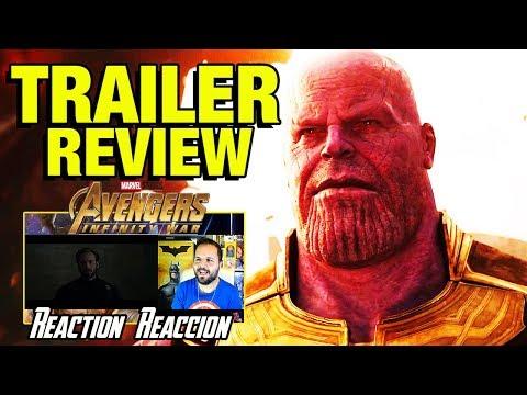 Marvel Studios' Avengers: Infinity War Official Trailer - Vengadores - REACCIÓN - REACTION - REVIEW