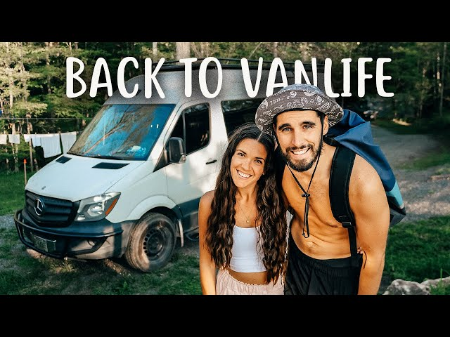 OUR FIRST VAN LIFE TRIP IN OVER A YEAR