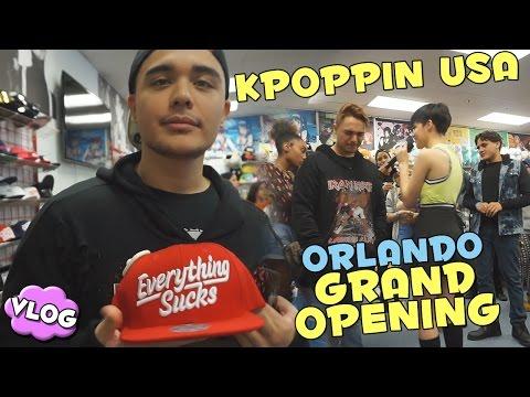 KPOPPIN USA ORLANDO GRAND OPENING ★ VLOG
