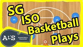 Shooting Guard Isolation Basketball Plays