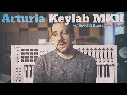ARTURIA KEYLAB MKII (feat. VCV Rack, Benn's Modular, & Seaboard Block)