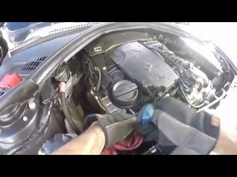 BMW 320 d F30 F31 Clean EGR Valve - replacement- Motor Light - YouTube