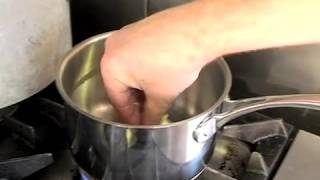 HA! HAs! Simon Blunt prepares a Seafood gratin.
