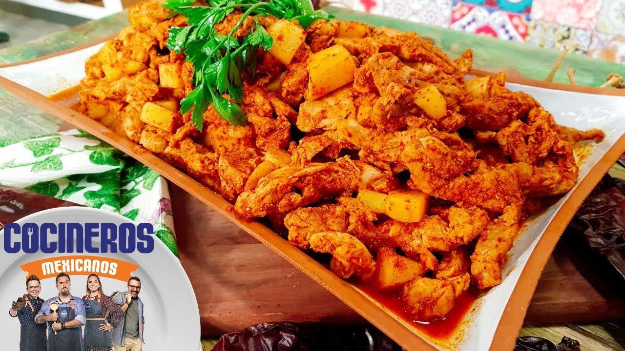 Receta De Carne Enchilada