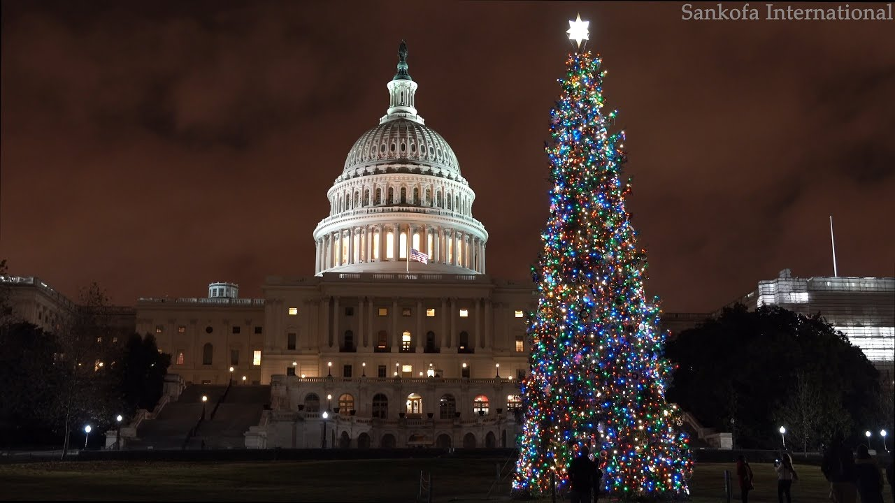 Georgetown Christmas Stroll 2019.Christmas In Dc Holiday Lights And Markets Free Tours By