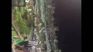 MEDELLIN, COLOMBIA - Atletico Nacional fans