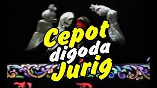 Wayang Golek - Cepot digoda Jurig