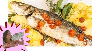 Download Video Pesce al forno - Branzino al Forno con Patate MP3 3GP MP4