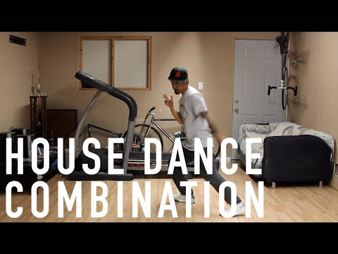 House Dance Tutorial - 4-Move Combo (Check Description)