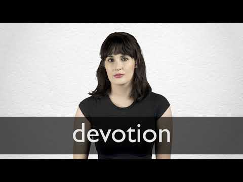 Devotion definition and meaning | Collins English Dictionary