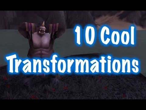 Jessiehealz - 10 Cool Transformations #2 (World Of Warcraft)