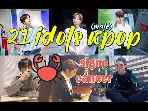 21 Idols Kpop Signo Zodiacal Cancer Youtube