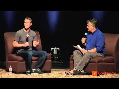 Mark Zuckerberg at Startup School