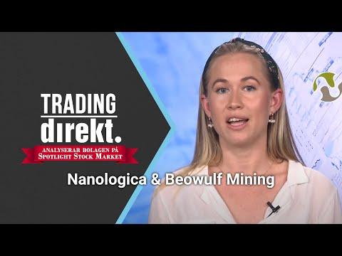 Trading Direkt Analyserar Bolagen På Spotlight 2020-05-27: Nanologica & Beowulf Mining