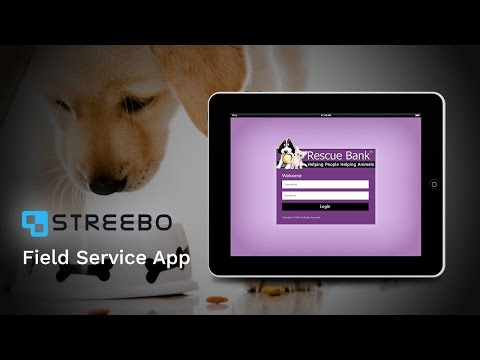 Rescue Bank's field service app powered by Streebo