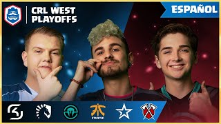 Clash Royale League: CRL West 2019 | ¡Los Playoffs! (Español)