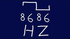 8686 hz square