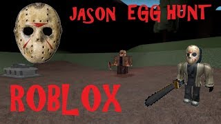Jason Voorhees and Zombies EGG HUNT | ROBLOX (Friday the 13th)