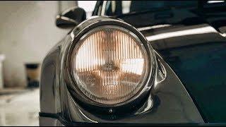 PORSCHE БЕЛАЯ БЕСТИЯ – новый внешний вид! Черный хром - тизер от Романа Милованова!) 964 (911) Turbo