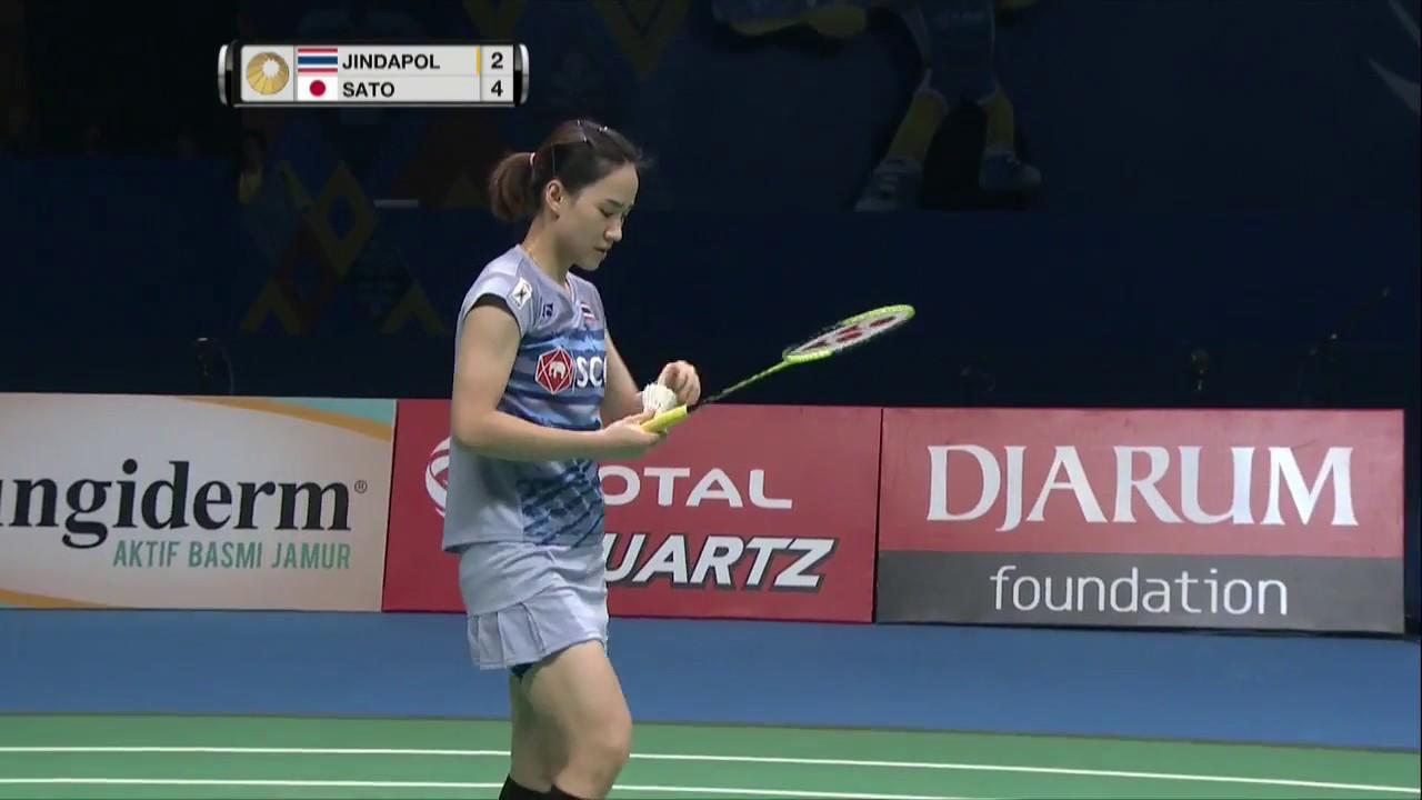 BCA Indonesia Open 2017 Badminton SF M1 WS