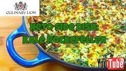Keto Side Dish: Rockefeller Kale