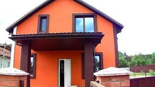 Красивый фасад,дек.штук.короед,отделка котеджей и частных домов,красивые ремонты,покраска в два цвет